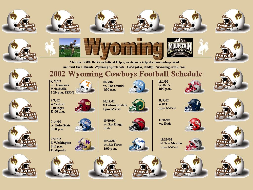 Wyoming Cowboys Wallpaper